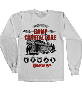 Camp Crystal Lake Long Sleeve Tee