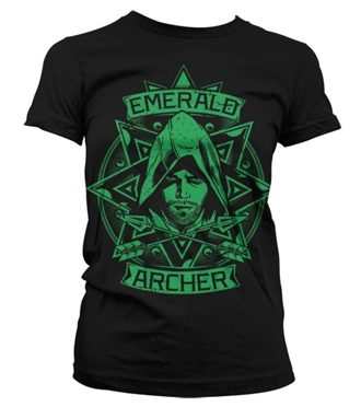 Arrow - Emerald Archer Girly T-Shirt