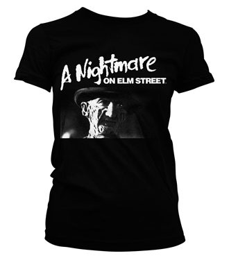 A Nightmare On Elm Street Girly Tee