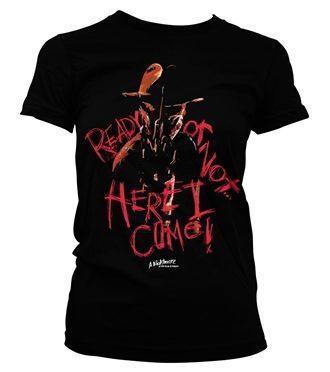 A Nightmare On Elm Street - Here I Come Girly Tee