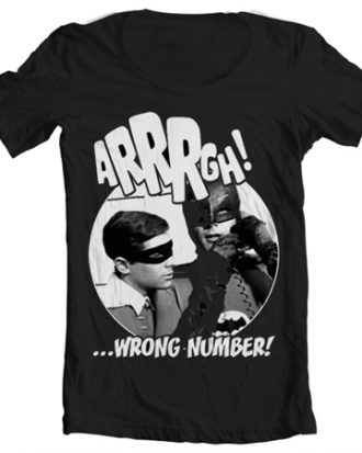 Arrrgh - Wrong Number Wide Neck Tee