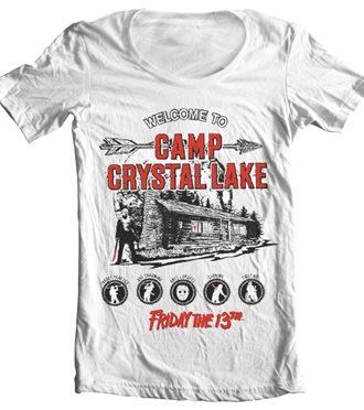 Camp Crystal Lake Wide Neck Tee