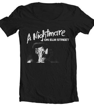 A Nightmare On Elm Street Wide Neck Tee
