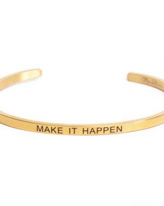 Armband med budskap - Cuff