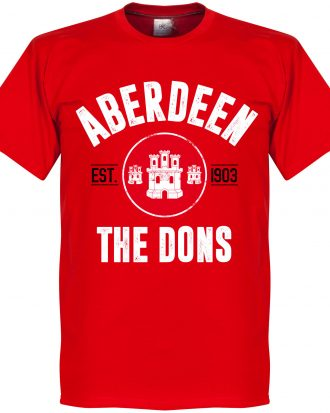 Aberdeen T-shirt Established Röd XS