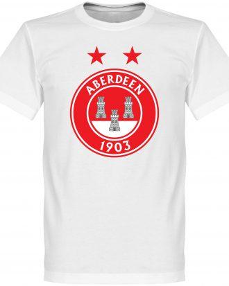 Aberdeen T-shirt Fan Crest Vit XS