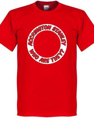 Accrington Stanley T-shirt  Röd XS