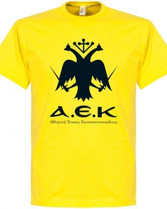 AEK Athens T-shirt AEK Emblem Gul XS