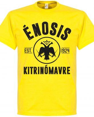 AEK Athens T-shirt Athens Established Gul S