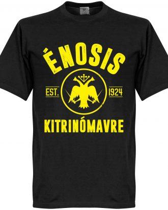 AEK Athens T-shirt Athens Established Svart XS