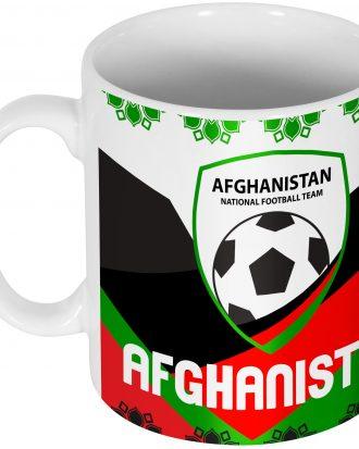 Afghanistan Mugg Team Röd-Svart