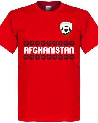 Afghanistan T-shirt Team Röd XS