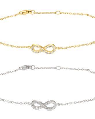Armband Agnanor Infinity - Nordahl Jewellery (Guld)