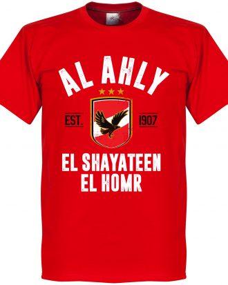 Al-Ahly T-shirt Al Ahly Established Röd XS