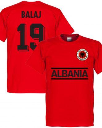 Albanien T-shirt Balaj 19 Team Röd XS