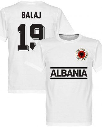 Albanien T-shirt Balaj 19 Team Vit XS