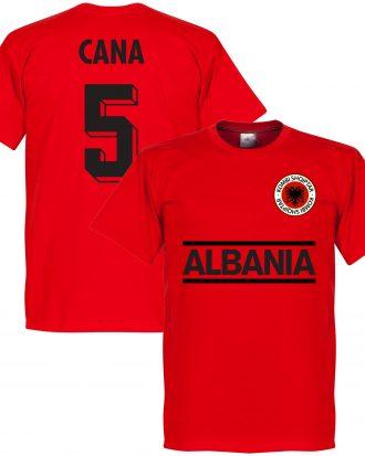 Albanien T-shirt Cana 5 Röd XS