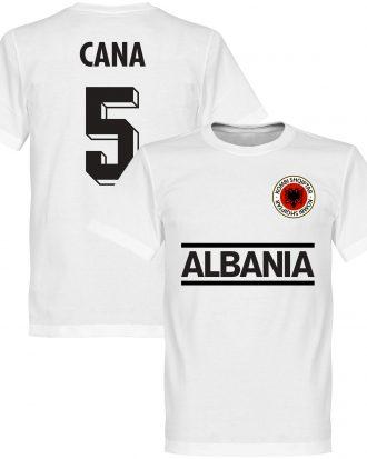 Albanien T-shirt Cana 5 Team Vit XS