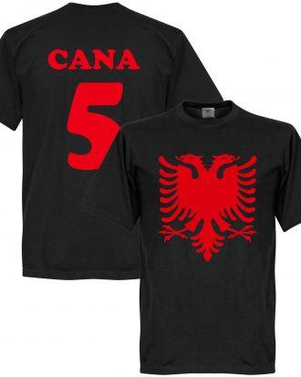 Albanien T-shirt Eagle Cana 5 Svart XS