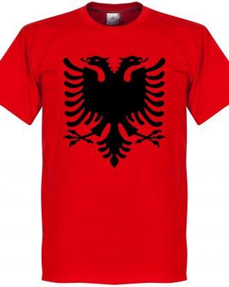 Albanien T-shirt Eagle Röd XS