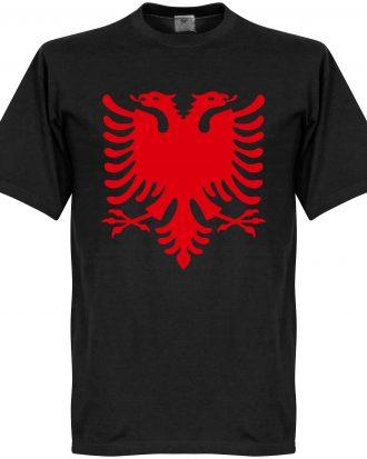 Albanien T-shirt Eagle Svart XS