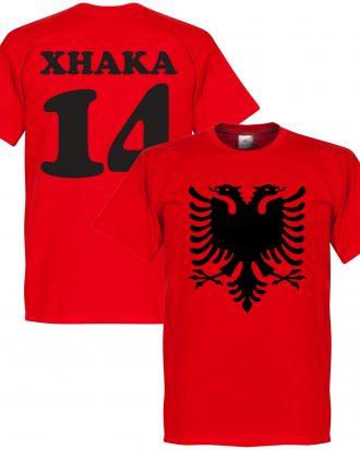 Albanien T-shirt Eagle Xhaka 14 Röd XS