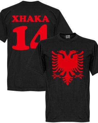 Albanien T-shirt Eagle Xhaka 14 Svart XS
