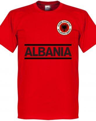 Albanien T-shirt Team Röd XS