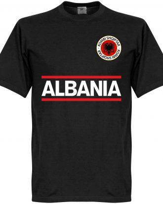 Albanien T-shirt Team Svart XS