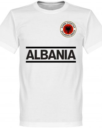Albanien T-shirt Team Vit XS