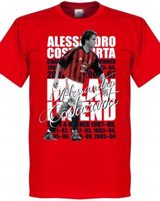 Alessandro Costacurt T-shirt Legend Alessandro Costacurta Legend Röd XS