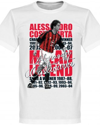Alessandro Costacurt T-shirt Legend Alessandro Costacurta Legend Vit XS