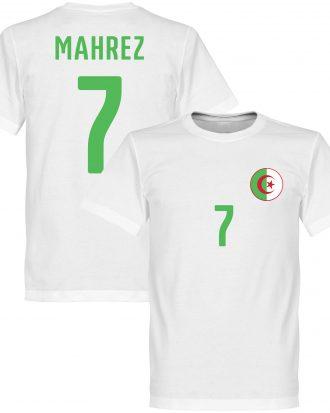 Algeriet T-shirt Crest Mahrez 7 Vit XS