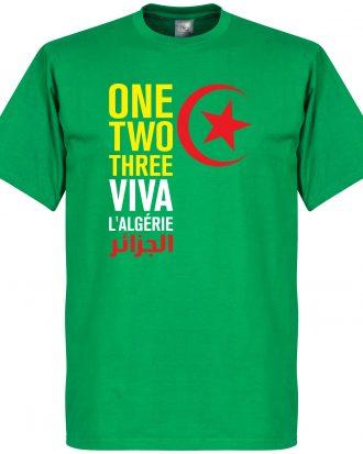 Algeriet T-shirt Viva LAlgerie Grön XS