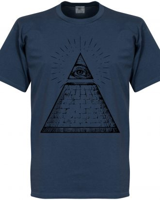 All Seeing Eye T-Shi T-shirt Culture All Seeing Eye Blå S