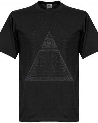 All Seeing Eye T-Shi T-shirt Culture All Seeing Eye Svart XS