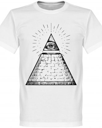 All Seeing Eye T-Shi T-shirt Culture All Seeing Eye Vit XS
