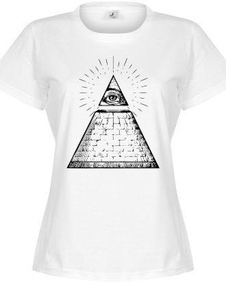 All Seeing Eye Women T-shirt All Seeing Eye Dam Vit S
