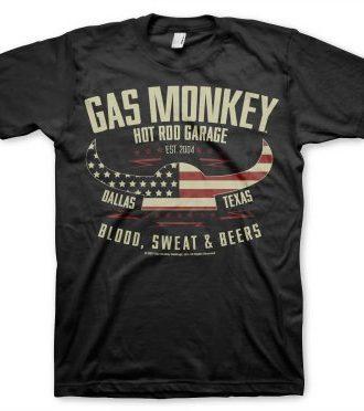 American Viking Gas Monkey Garage t-shirt (S)