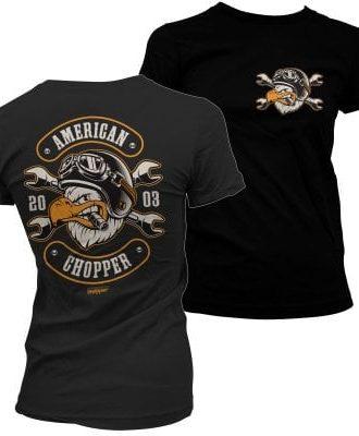 American Chopper - Cigar Eagle tjej T-shirt (S