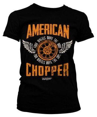 American Chopper - Two Wheels tjej T-shirt (S