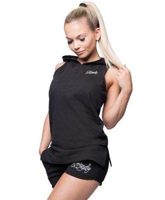 Amity sleeveless hoodie (XS)