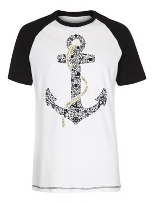 Anchor Baseball T-shirt (S)