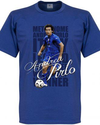 Andrea Pirlo T-shirt Legend Pirlo Legend Blå XXL