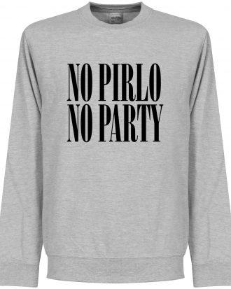 Andrea Pirlo Tröja No Pirlo No Party Sweatshirt Grå S