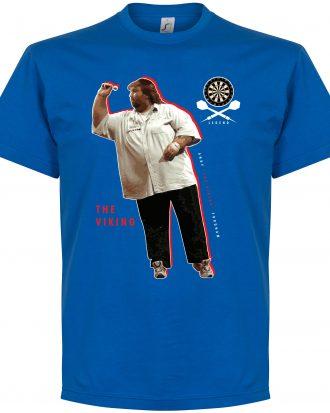 Andy Fordham Darts T T-shirt Darts Legend Andy Fordham Darts Blå S