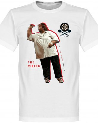 Andy Fordham Darts T T-shirt Darts Legend Andy Fordham Darts Vit XS