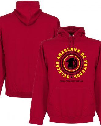 Angola Huvtröja Crest Röd S