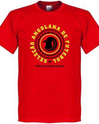 Angola T-shirt Crest Röd XS