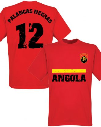 Angola T-shirt Röd XS